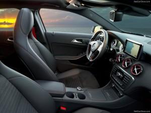 Mercedes A Class inside